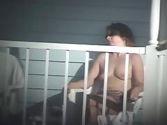 Nude Pool - on Balcony