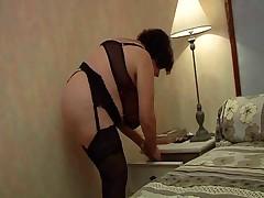 Madame Olga - Huge Boobs and Ass Hard Threesome Fucking
