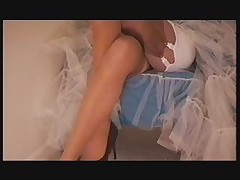 Upskirt Girdle and Stockings