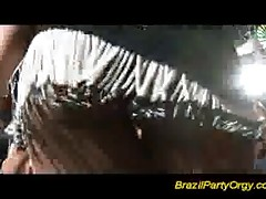Brazilian party orgy fucking and sucking big cocks