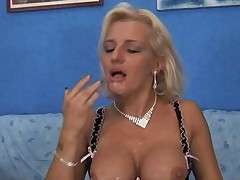Hot Mature Euro Blonde Cougar