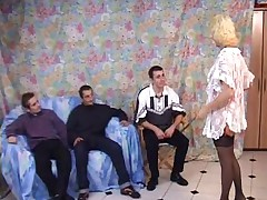 French teatcher treesomes for anal group sex