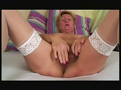 Big tit hairy granny fucked