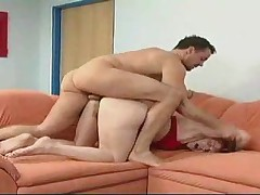 Hairy Mature gets Hard Fuck