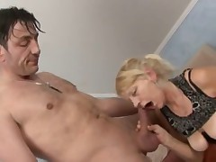 Granny Takes A Pounding !