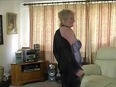 Delightful Granny Pumping