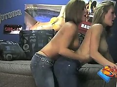 Brandi Love and Jennifer Get Naughty in Boys Dorm