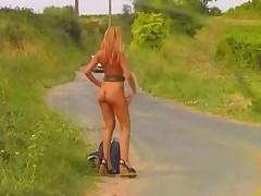 Public Nudity Playing Around 4