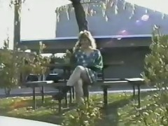 Public Nudity One Skanky Blonde Bitch