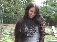 Eroberlin presents Maria from Russia in sexy Animalpark