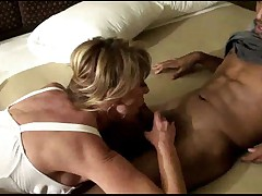 Swinger wife slut creampied by young black lover - snake