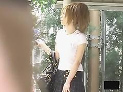 Asian girls bending over Tokyo drift