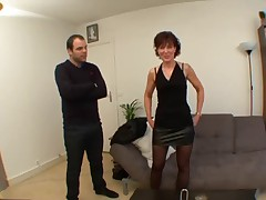 French Mama Loves Anal