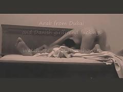Arab fucks Danish GF in Dubai