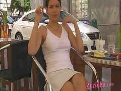 Coffee break basic instinct style