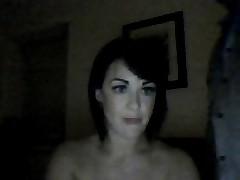 Uk girl facesits bf on webcam