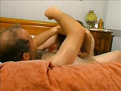 Old French Skank - ROUGH Pussy Abuse