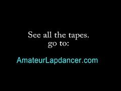 Lapdance switches to masturbation