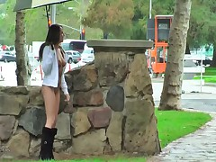 A rainy day flashing