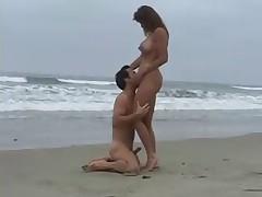 Romantic beach fuck