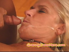 Grannnys swallowing cum, cream pies and MORE (Compilation)