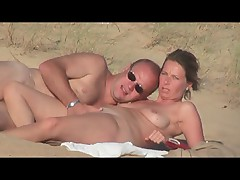 Hidden vid of French woman fucking on beach part 5