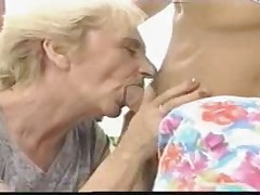 Granma fucks