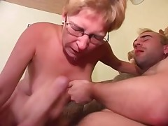 Pierced Mature in Glasses Fucked