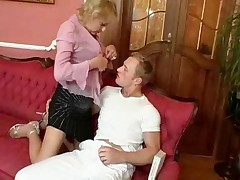 Hairy and Titty Blonde Granny by TROC