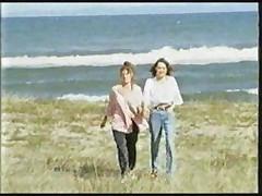 Girlfriends on the beach