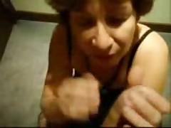 Nasty drunck granny