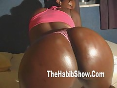 50 inch of brazilian bubble butt fucked