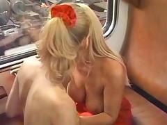 Train spotting lesbians
