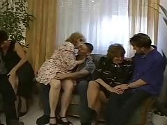 Two Grandmas Fuck 30'something Hot Hunk.