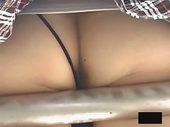 Asian Girls Bending over