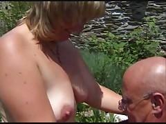 Blond French Mom - R20