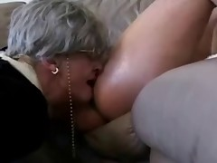 Grannies loves to suck young cocks