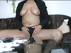 Granny Fingering her Pussy
