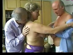 Granny Entertains Two Old Guys