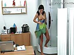 Angelica gyno exam