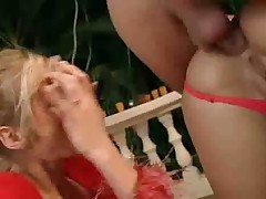 Hot ass to mouth and some deep butt fucking