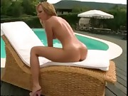 Blondy Pool Girl
