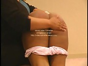 spanked ebony bottoms pt 1