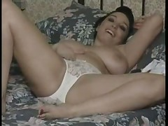 British MILF in pantyhose