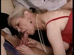 French Mature Orgy 90s