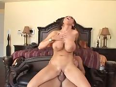 Brunette Nikki Benz hardcore sex scene