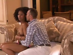 Suck and fuck with black pornstar Misty Stone