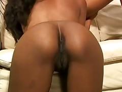 Black lesbians use strapon cock for fun