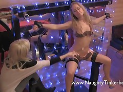 Naughty Tinkerbell - Naughty Tinkerbell Has Her PEE HOLE Stretched And Punished By The Mistress, Ext