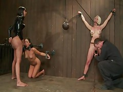 Sexy Jade And Lorelei Lee And Jade Indica - Device Bondage